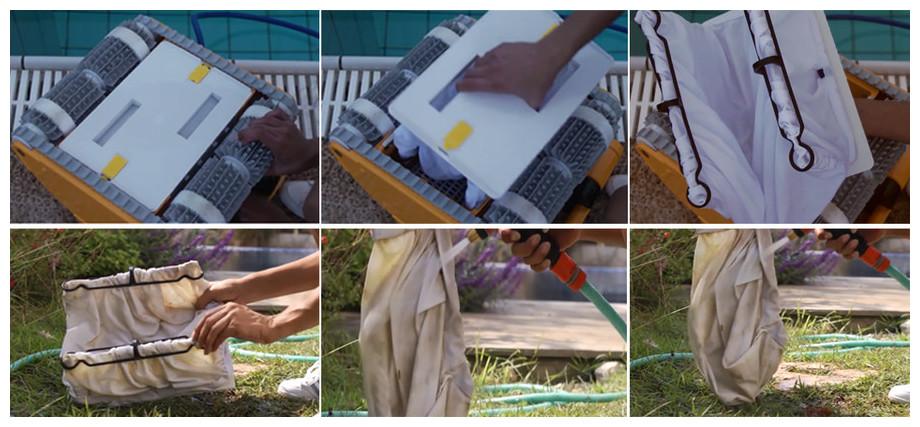 entretien du robot piscine prox 2