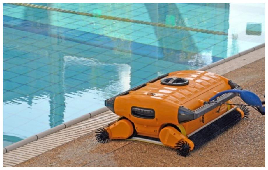 robot piscines publiques de grande dimension dolphin wave xl 300