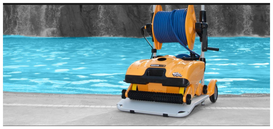 robot piscine dolphin wave 200 xl