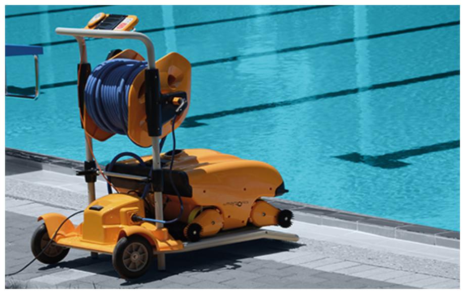 chariot du robot piscine wave 200 xl