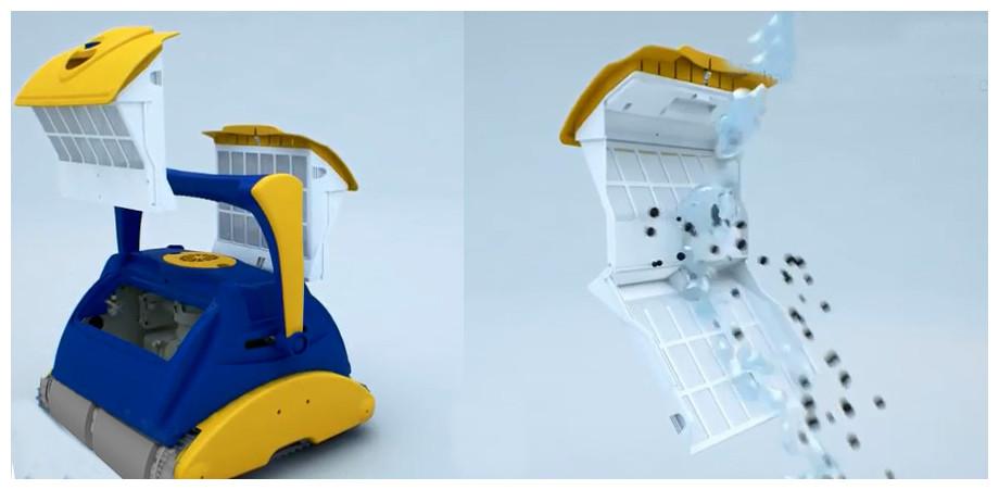 filtration du robot typhoon