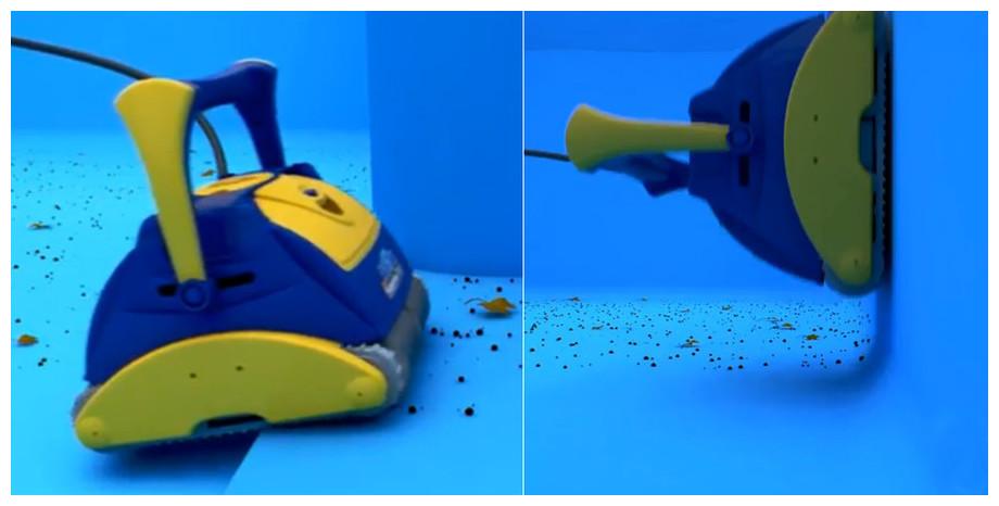 détails du robot piscine typhoon aquabot