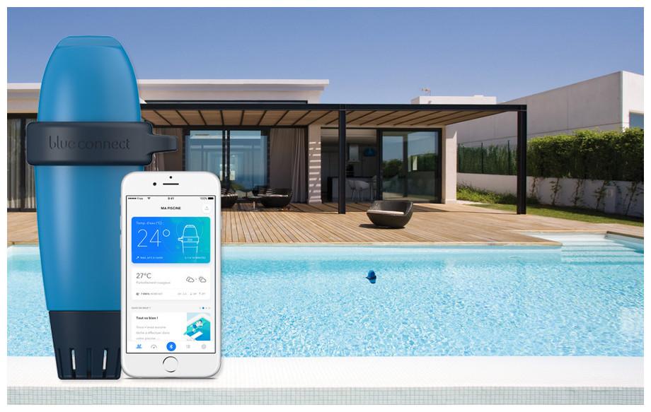 analyseur connecté eau de piscine Blue connect plus