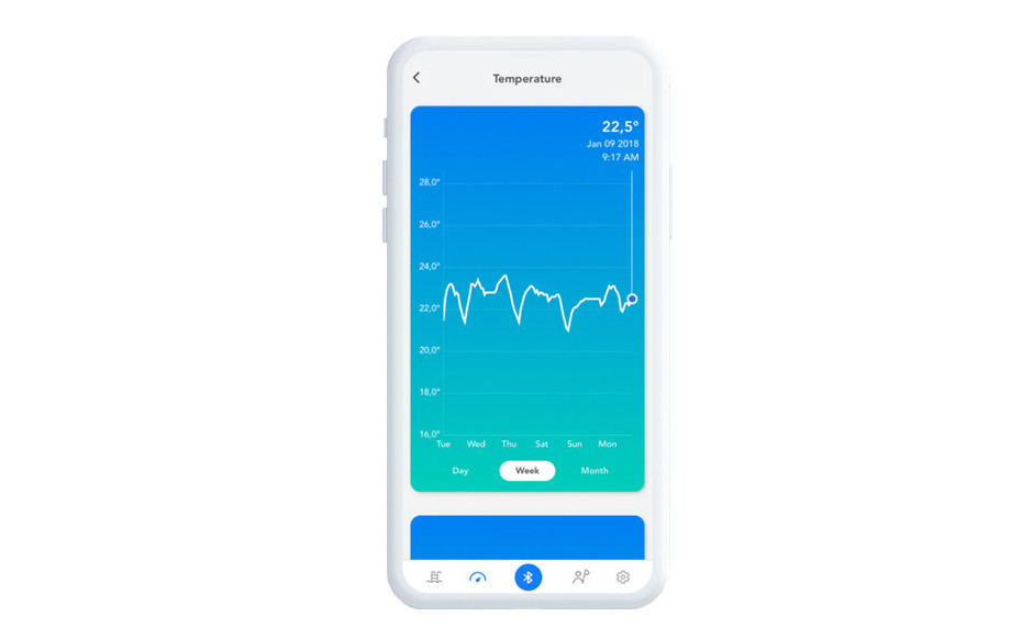 analyseur connecté eau de piscine Blue connect plus application
