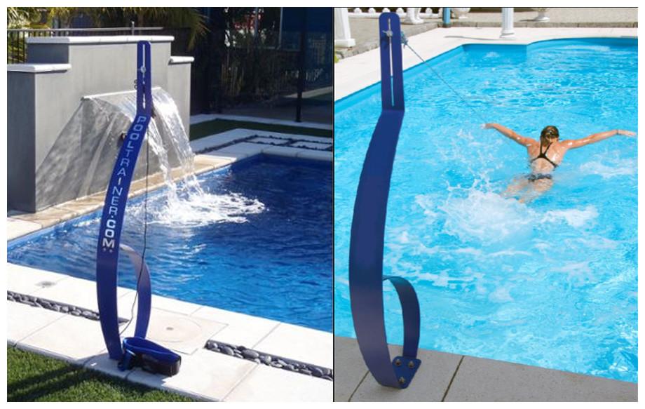 Descriptif du pooltrainer entraineur de nage pour piscine