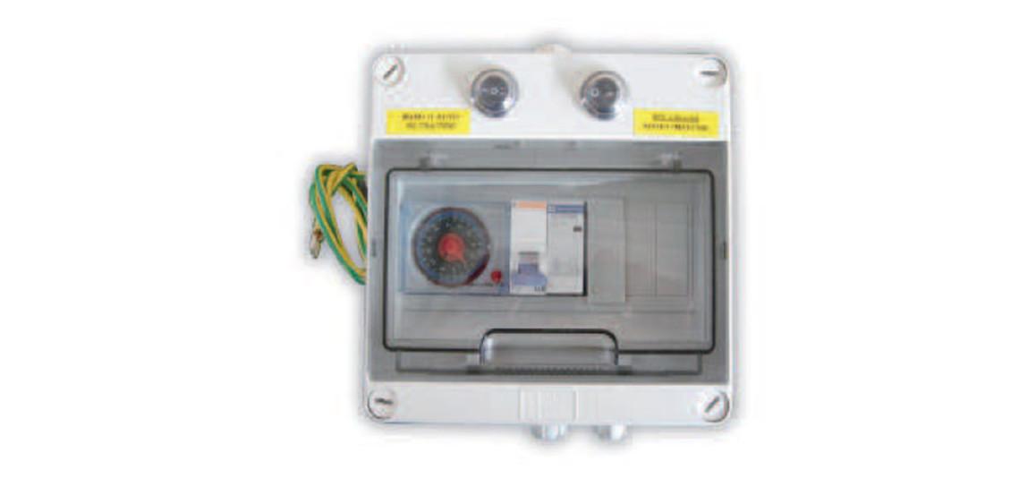 coffret électrique pour groupe de filtration filtrinov