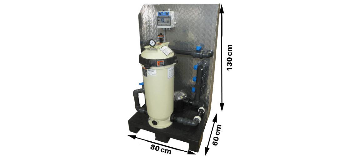 dimensions de palette de filtration quick filre by filtrinov