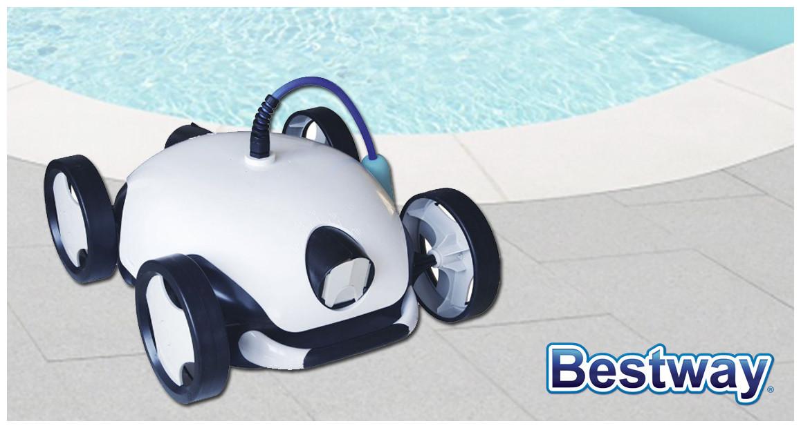 robot piscine à fond plat falcon bestway