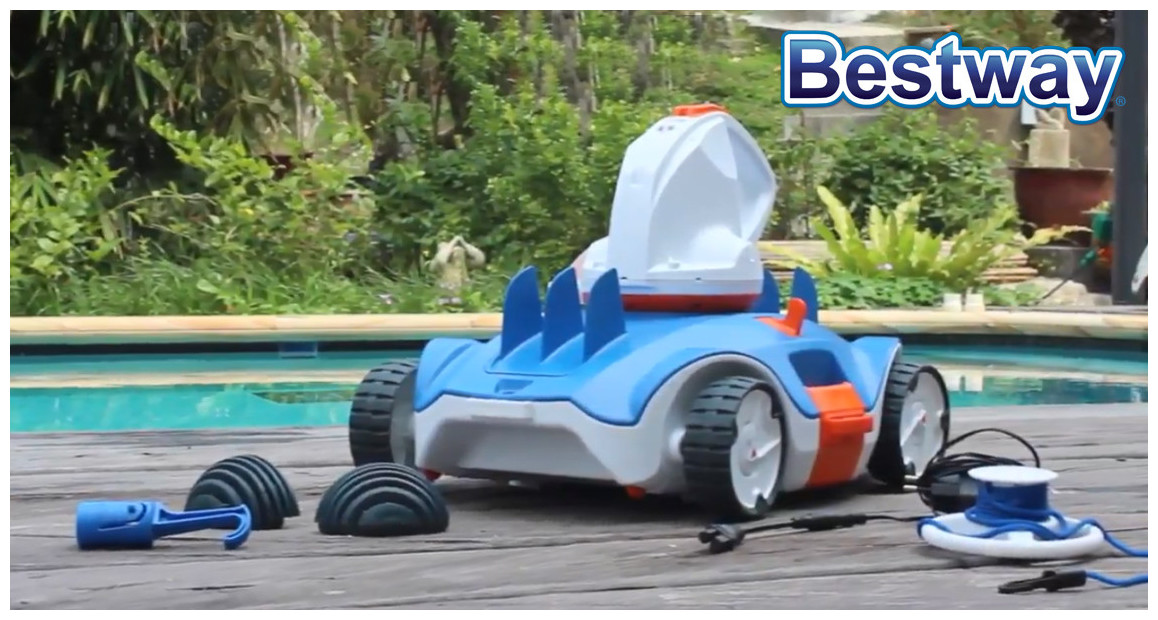 robot piscine à batterie Aquatronix Bestway