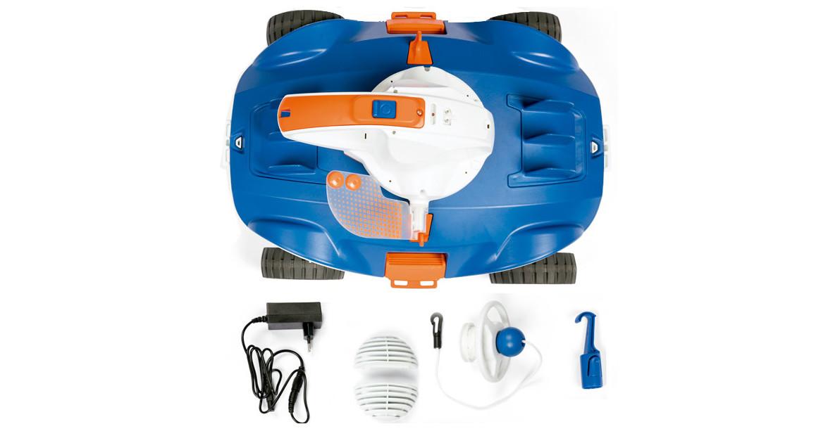 contenu du robot piscine aquatronix bestway