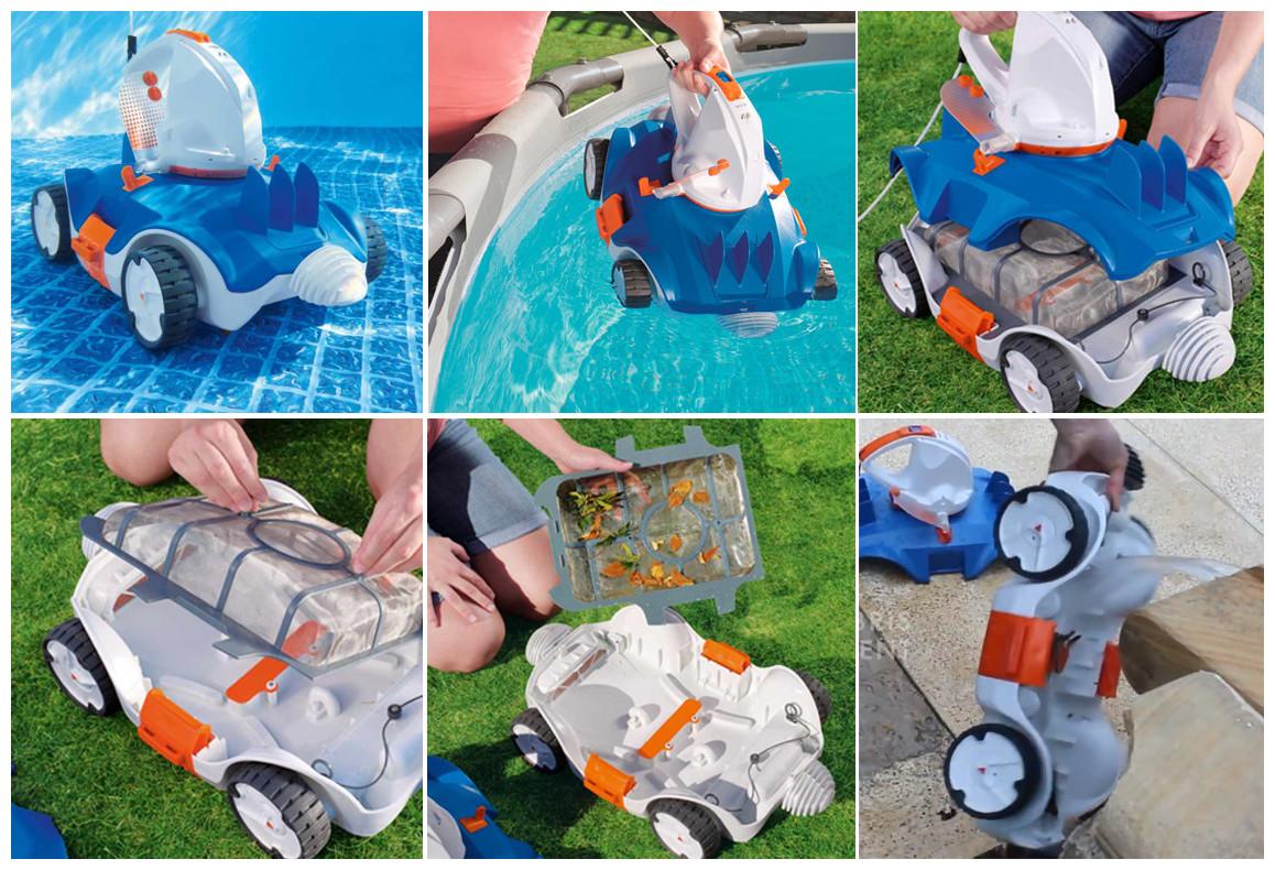 filtration du robot piscine bestway aquatronix
