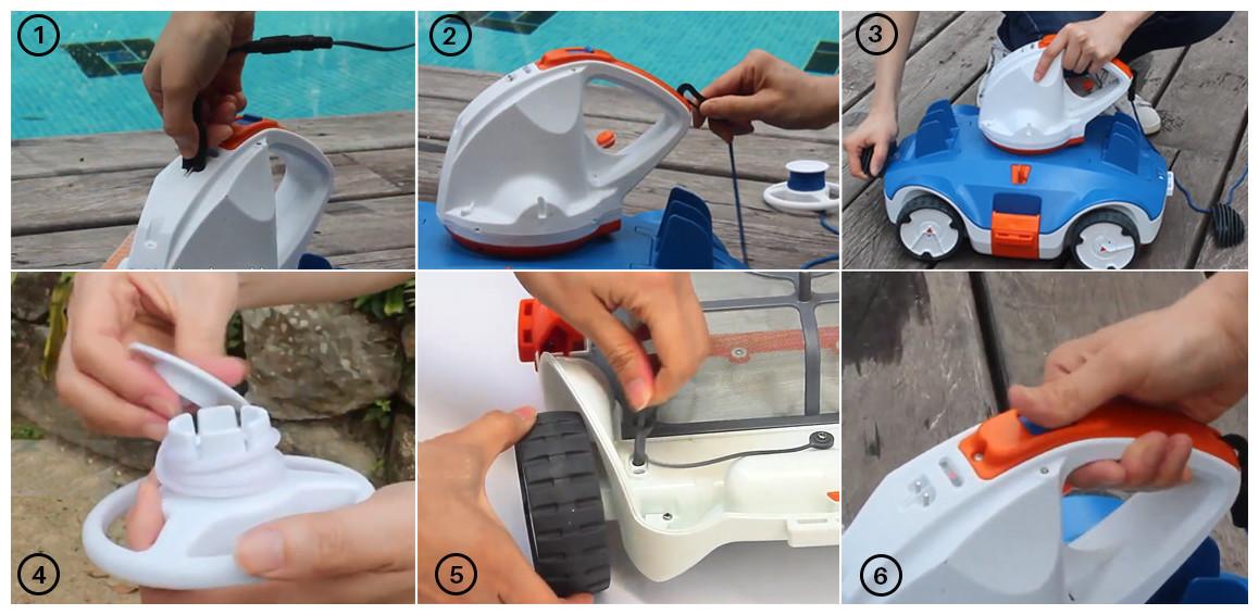 utilisation du robot aquatronix bestway