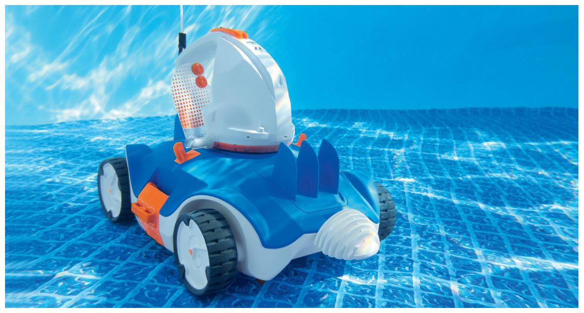 aperçu du robot piscine à batterie Aquatronix bestway
