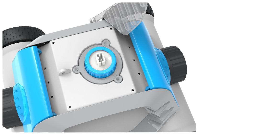 détail du robot de piscine sans fil thethys bestway