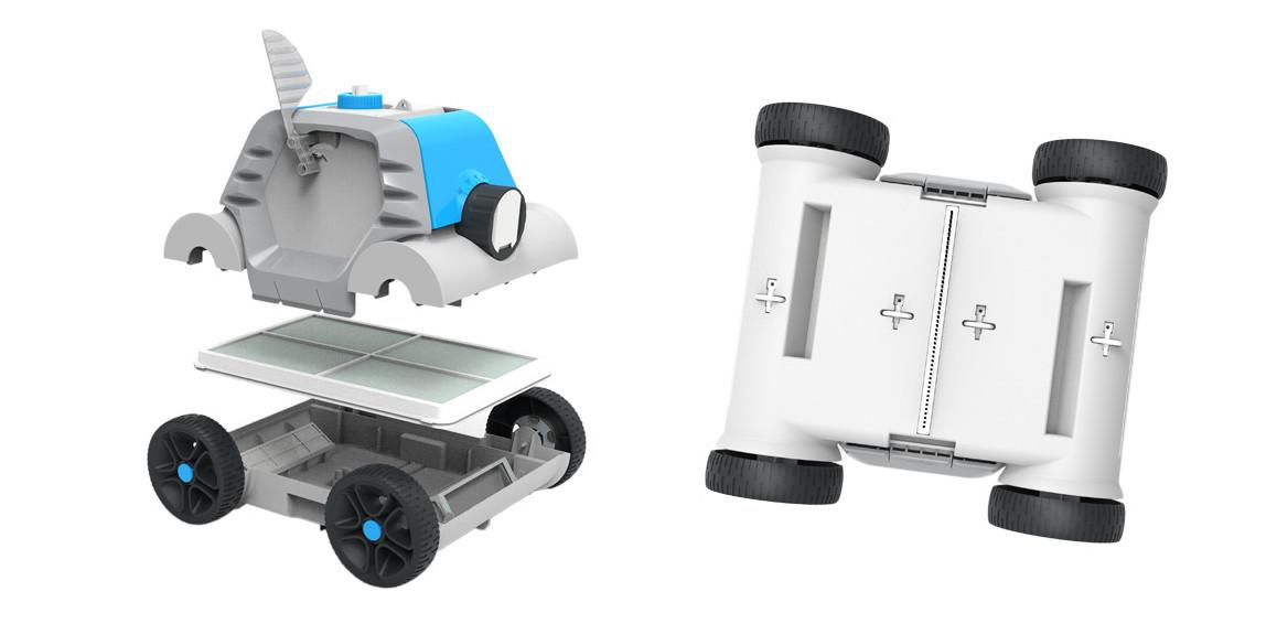 détails du robot nettoyeur de piscine thethys bestway