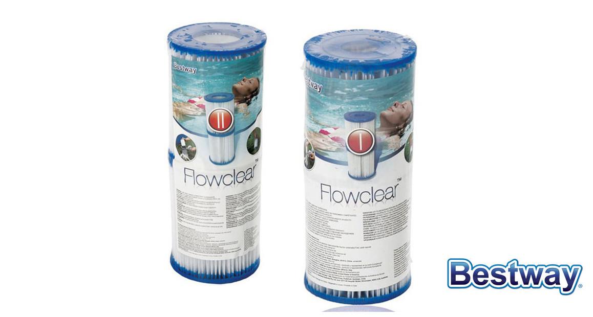 cartouches de filtration bestway