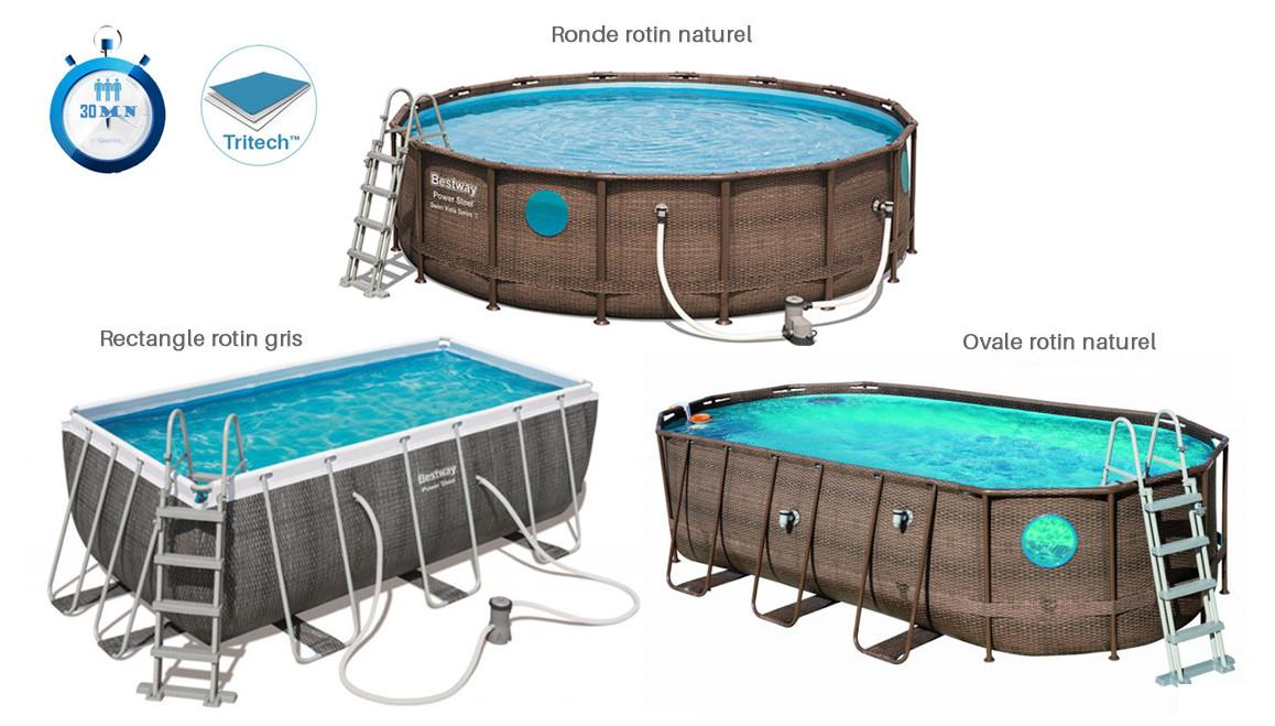 descriptif de la piscine hors sol bestway swim vista series