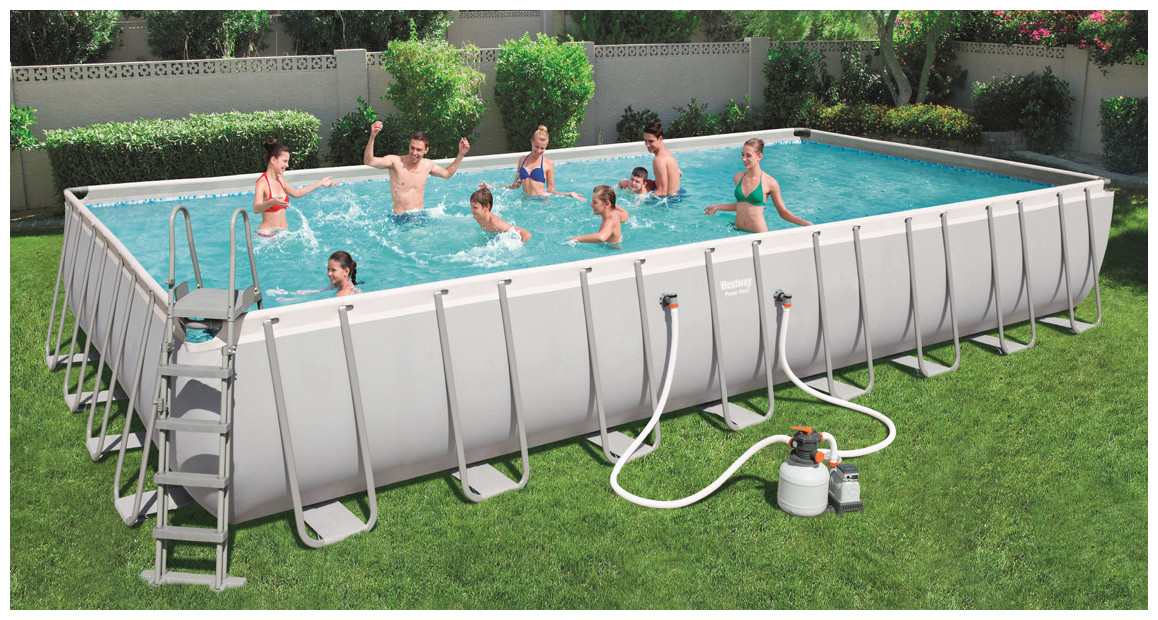 piscine tubulaire hors sol power steel frame