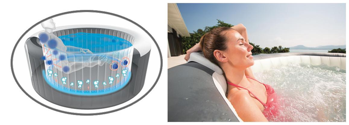 spa bestway lay z avec hydrojets pro