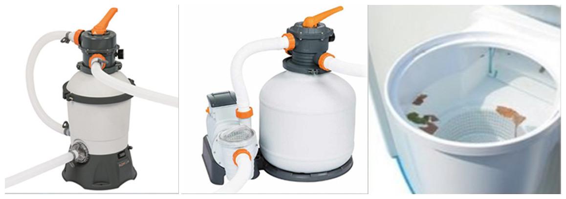 filtration de piscine hors sol hydrium bestway