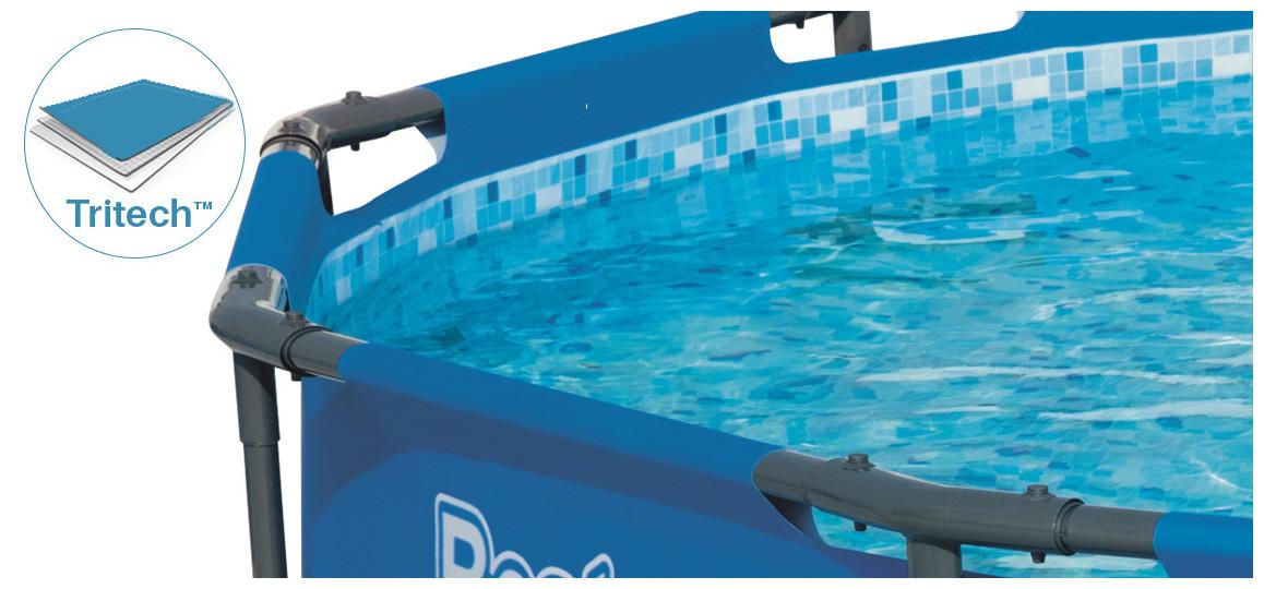 liner tritech piscine bestway steel pro max