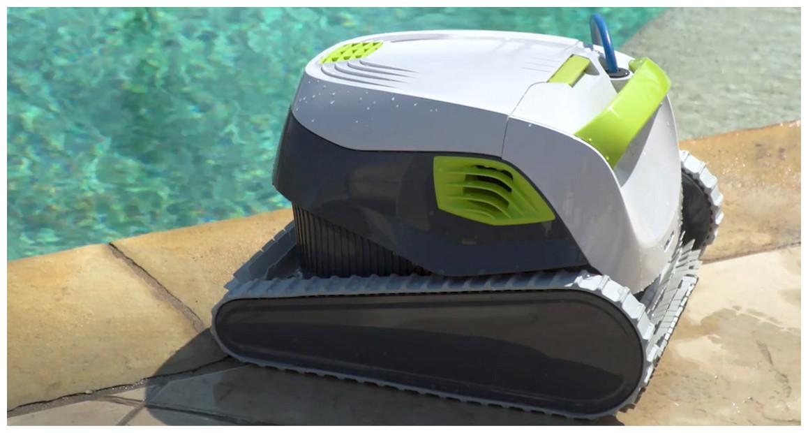 détails du robot piscine dolphin t15