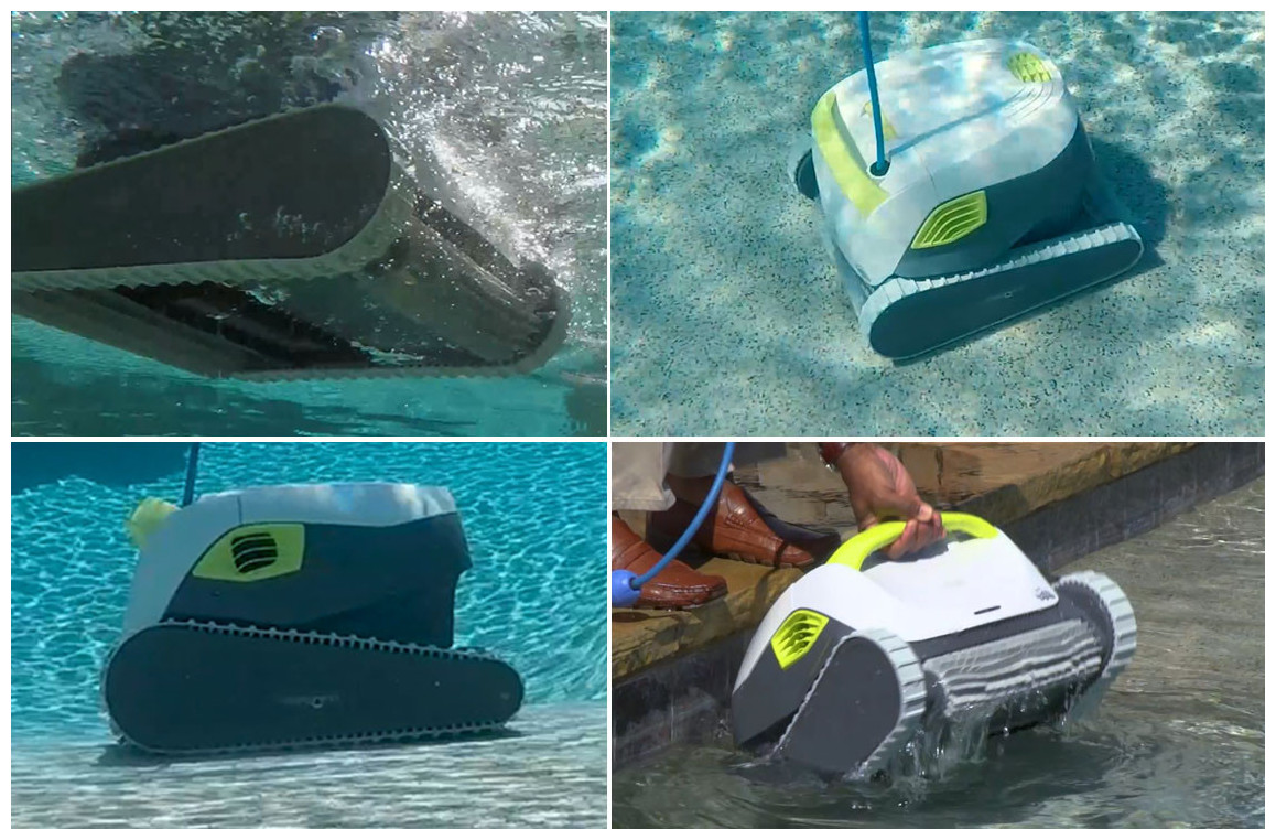rutilisation du robot piscine dolphin t15