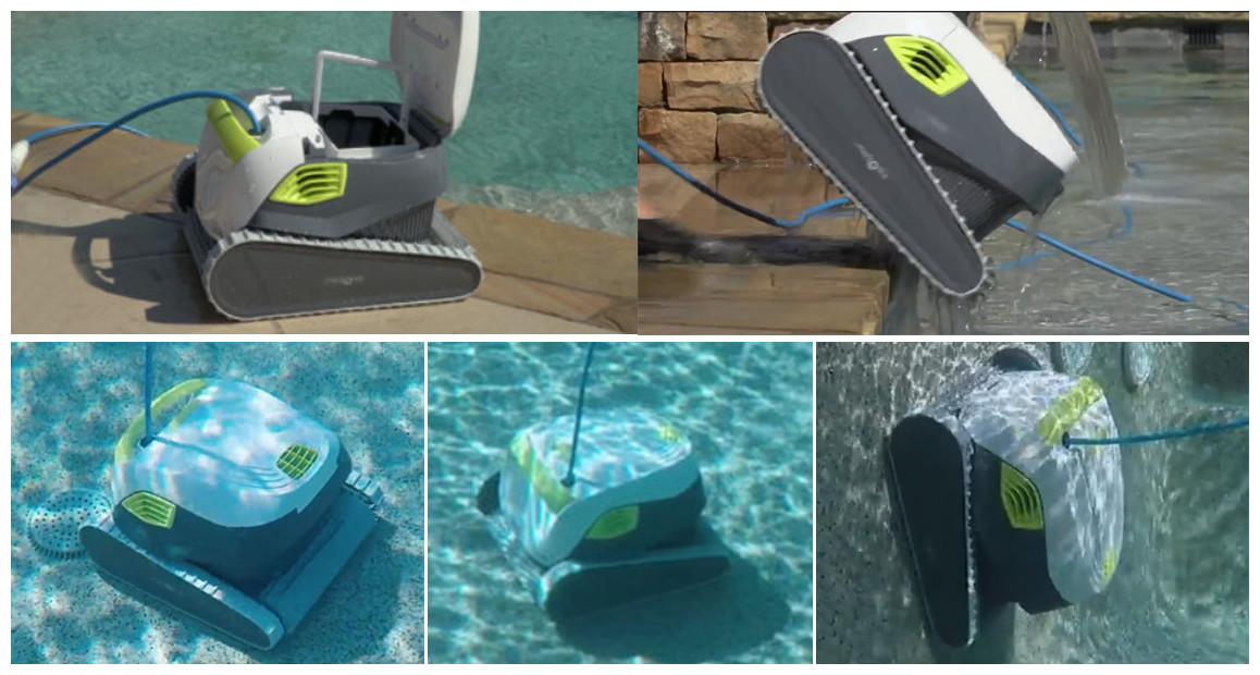 robot dolphin t25 fonctionnemnt