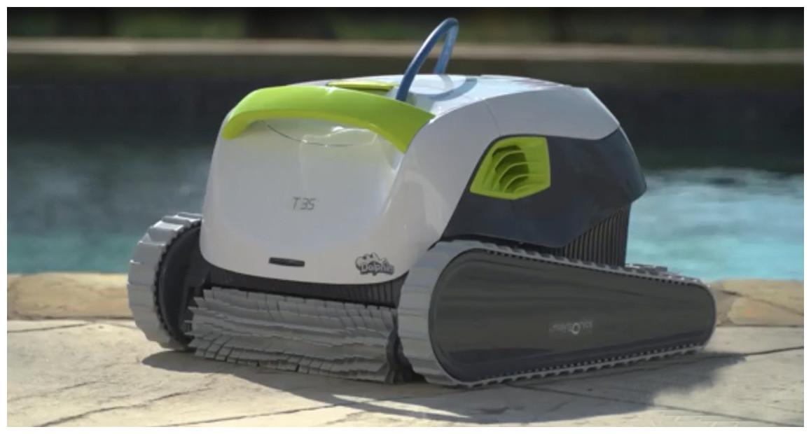 robot nettoyeur de piscine dolphin T35