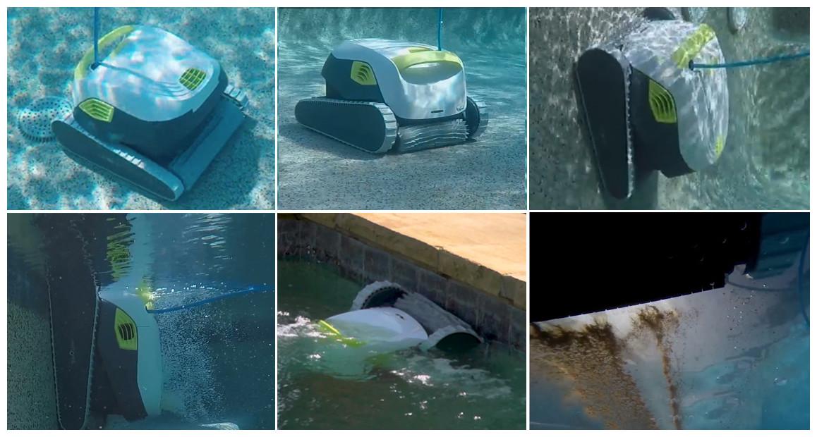 fonctionnement du robot de piscone dolphin t35 en situation