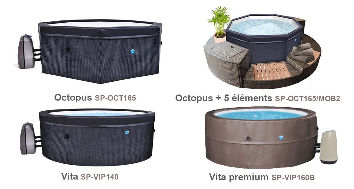 modèle de spas Netspa en situation