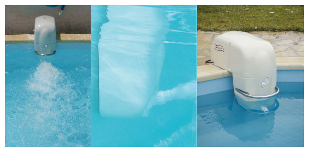 Nage contre courant hors bord pour piscine piscine for Piscine fond mobile sans cable