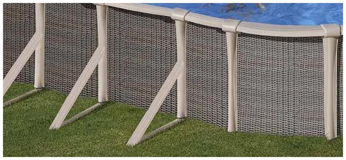 renfort de structure du kit piscine hors sol gré gamme fusion