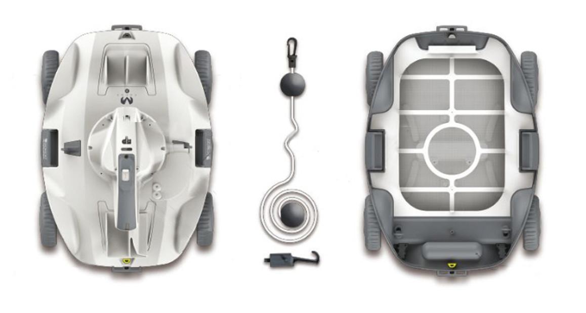 détails robot piscines sans fil kokido manga x