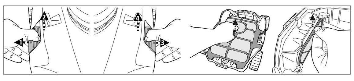 entretien du filtre du robot sans fil kokido manga x