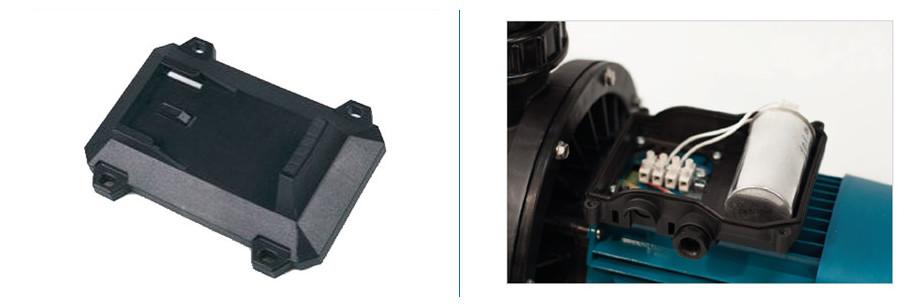 boitier de connexion de la pompe de filtration silen s2