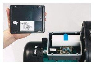 Silen2 pompe filtration compatible eau sal e d bit for Branchement filtre piscine