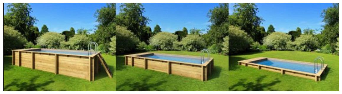 installation de la piscine bois proswell pool n box