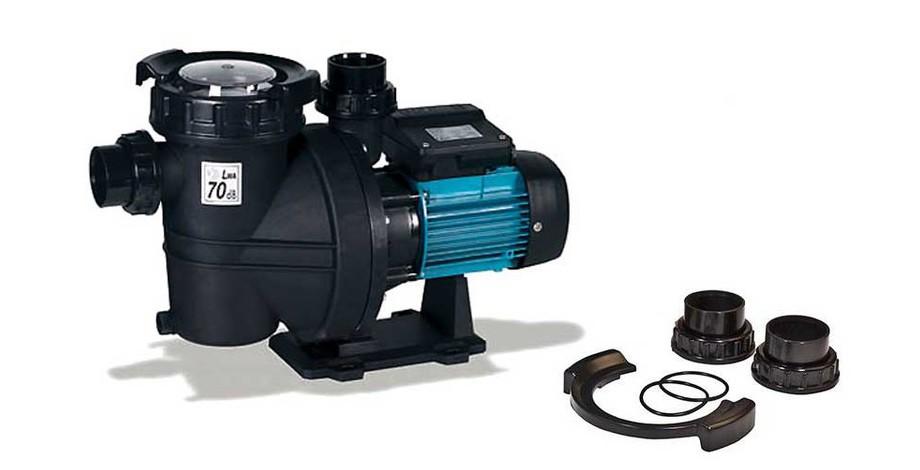 accessoires fournis avec la pompe de filtration piscine Iris by ESPA