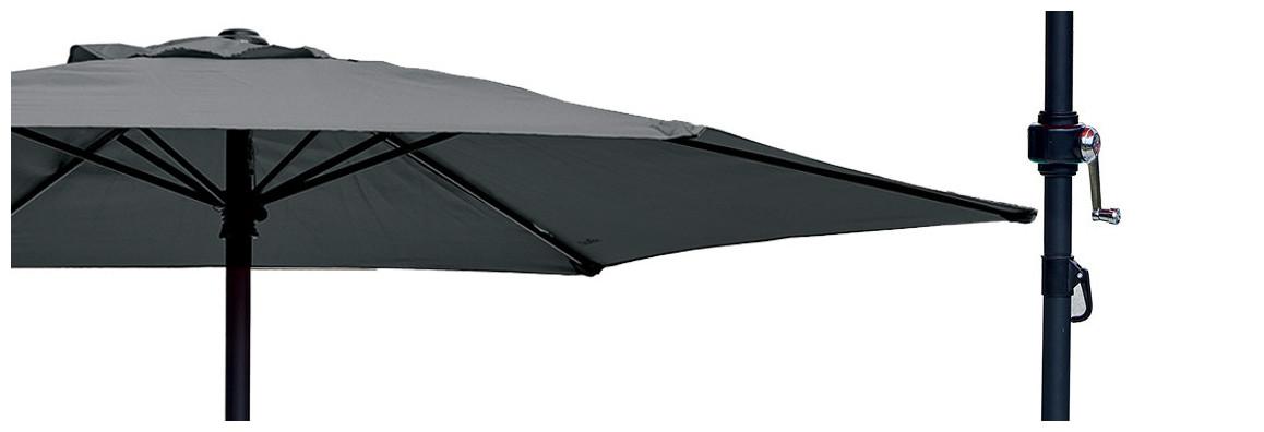caractéristiques du parasol droit rond ozalide Ø 200 cm