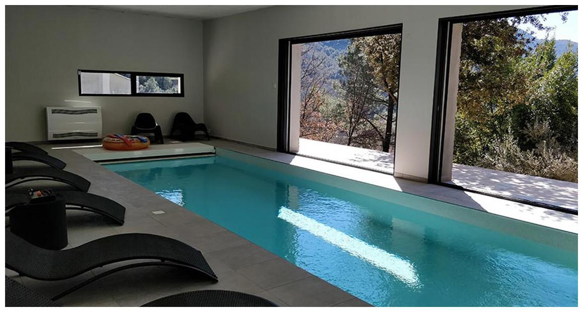 déshumidificateur pour piscines et spas Teddington CDP en situation