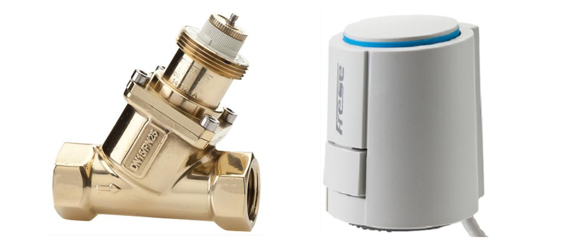 """vanne de régulation 1/2"""" pour batterie eau chaude déshumidificateur teddington"""
