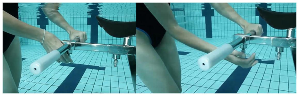 installation de la barre multi-training waterflex