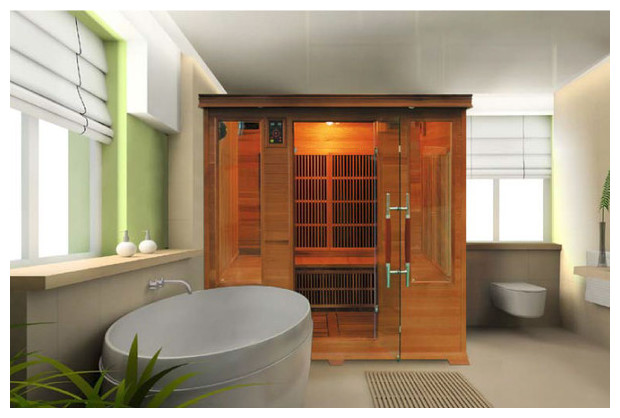 luxe sauna infrarouge integration decor