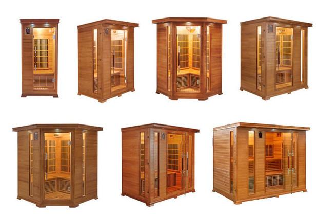 Sauna Luxe - gamme de cabines sauna infrarouge