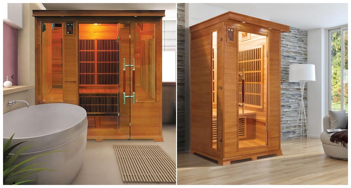 sauna infrarouge France Sauna luxe