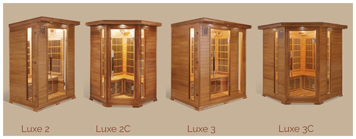 capacité du sauna infrarouge france sauna luxe