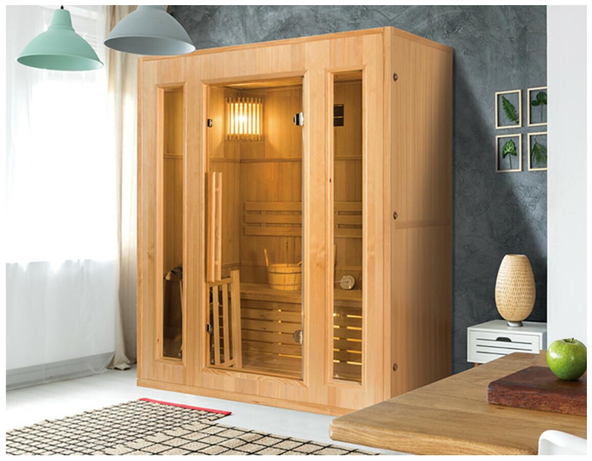 sauna vapeur traditionnelle zen par France Sauna