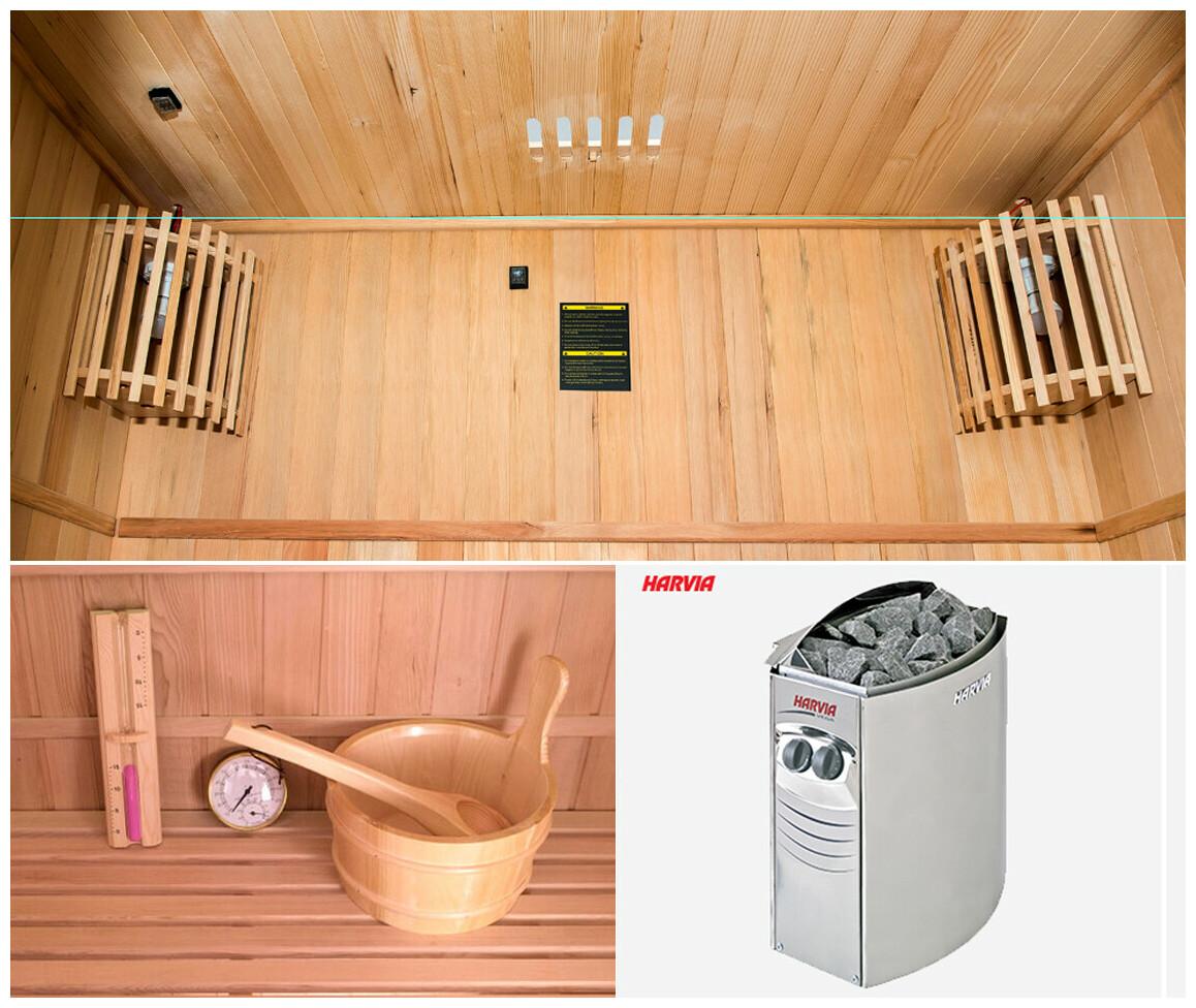 accessoires du sauna vapeur zen