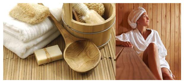 Zen - sauna traditionnel à vapeur - ambiance
